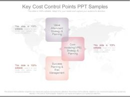 Key Cost Control Points Ppt Samples
