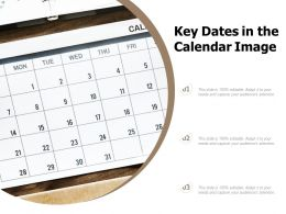 Key Dates In The Calendar Image