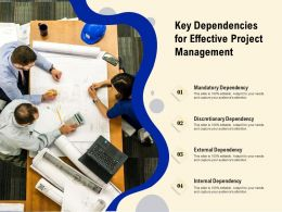 Key Dependencies For Effective Project Management