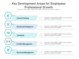 Key Development Areas For Employees Professional Growth