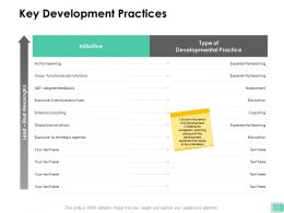 Key Development Practices Functional Ppt Powerpoint Presentation Inspiration Layout