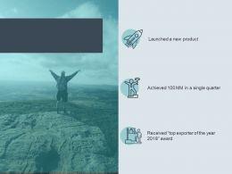 Key Developments Milestones Achieved Stairs Ppt Powerpoint Presentation Icon Summary