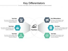 Key Differentiators Ppt Powerpoint Presentation Gallery Slide Download Cpb