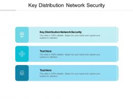 Key Distribution Network Security Ppt Powerpoint Presentation File Show Cpb