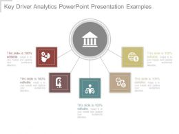 Key Driver Analytics Powerpoint Presentation Examples