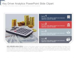 Key Driver Analytics Powerpoint Slide Clipart