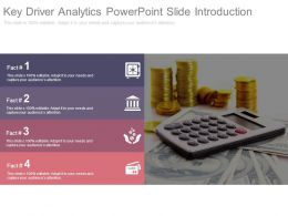 Key Driver Analytics Powerpoint Slide Introduction