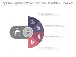 Key Driver Analytics Powerpoint Slide Templates Download