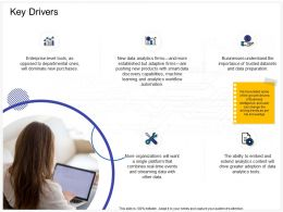 Key Drivers Adaptive Ppt Powerpoint Presentation Infographic Template Graphics