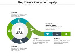 Key Drivers Customer Loyalty Ppt Powerpoint Presentation Summary Introduction Cpb