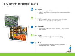 Key Drivers For Retail Growth Retail Industry Assessment Ppt Microsoft