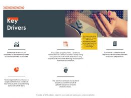 Key Drivers Machine Learning Ppt Powerpoint Presentation Model Elements