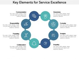Key Elements For Service Excellence