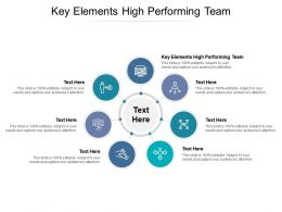 Key Elements High Performing Team Ppt Powerpoint Presentation File Infographic Template Cpb
