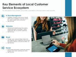 Key Elements Of Local Customer Service Ecosystem