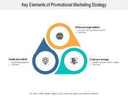 Key Elements Of Promotional Marketing Strategy