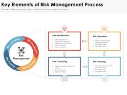Key Elements Of Risk Management Process