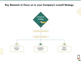 Key Elements To Focus On In Your Companys Overall Strategy Ppt Gridlines