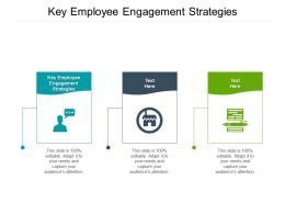 Key Employee Engagement Strategies Ppt Powerpoint Presentation Layouts Structure Cpb
