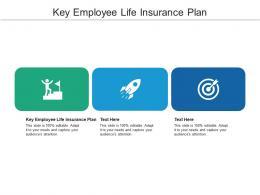 Key Employee Life Insurance Plan Ppt Powerpoint Presentation Templates Cpb