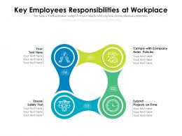 Key Employees Responsibilities At Workplace