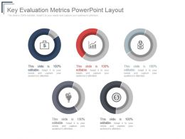 Key Evaluation Metrics Powerpoint Layout