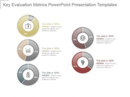 Key Evaluation Metrics Powerpoint Presentation Templates