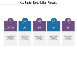 Key Factor Negotiation Process Ppt Powerpoint Presentation Icon Graphic Tips Cpb