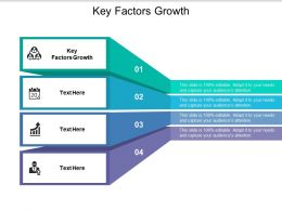 Key Factors Growth Ppt Powerpoint Presentation Background Images Cpb