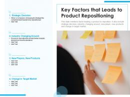 Key Factors That Leads To Product Repositioning