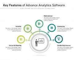 Key Features Of Advance Analytics Software