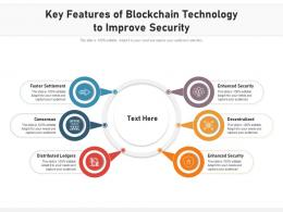 Key Features Of Blockchain Technology To Improve Security