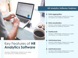 Key Features Of HR Analytics Software