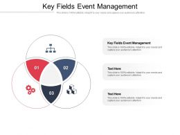 Key Fields Event Management Ppt Powerpoint Presentation Pictures Designs Cpb