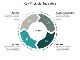 Key Financial Indicators Ppt Powerpoint Presentation Model Show Cpb