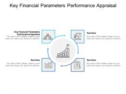 Key Financial Parameters Performance Appraisal Ppt Powerpoint Presentation Slides Templates Cpb