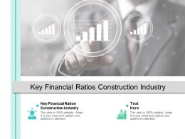 Key Financial Ratios Construction Industry Ppt Powerpoint Presentation Icon Cpb