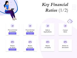Key Financial Ratios Current Ratio Ppt Powerpoint Presentation Designs Download