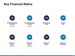 Key Financial Ratios Debt To Equity Ratio Ppt Powerpoint Presentation Clipart