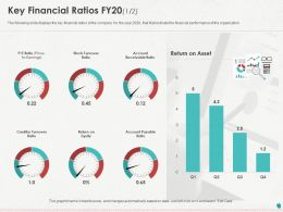 Key Financial Ratios FY20 Stock Ppt Powerpoint Presentation File Background Images