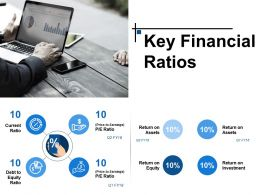 Key Financial Ratios Powerpoint Layout
