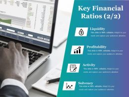 Key Financial Ratios Powerpoint Presentation Examples