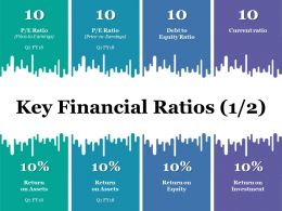 Key Financial Ratios Powerpoint Slide Themes