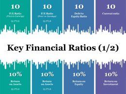 Key Financial Ratios Powerpoint Slide Themes