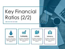 Key Financial Ratios Ppt Diagrams