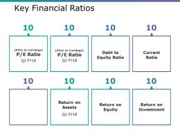 Key Financial Ratios Ppt Ideas Guidelines