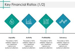 Key Financial Ratios Ppt Model Shapes