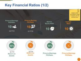 Key Financial Ratios Ppt Pictures Master Slide