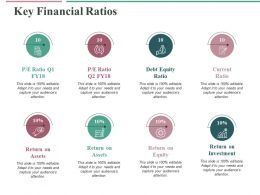 Key Financial Ratios Ppt Professional Graphics Template