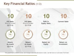 Key Financial Ratios Ppt Sample File